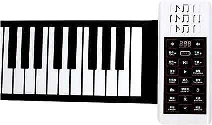 Pianos Instrumentos Musicales Rueda Manual 88 Teclas Teclado ...
