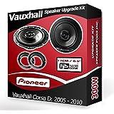 Vauxhall Corsa D Front Door Speakers Pioneer car speakers + adapter pods 300W