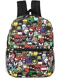 Girls' Princess Emoji Print Backpack