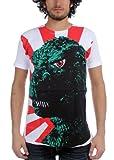 Godzilla - Rising Sun Flag Subway T-Shirt - X-Large