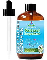 Nail Polish Remover - Natural and Plant Based - Non...