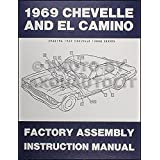 1969 Chevelle El Camino Factory Assembly Manual With Decal Gm Chevrolet Chevelle El Camino Malibu Ss Gm Chevrolet Chevelle El Camino Malibu Ss Gm Chevrolet Chevelle El Camino Malibu Ss Gm Chevrolet