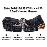 Eonon 17 Pin + 40 Pin 5m Extension Harness Only for GA9250B/GA9301B/GA9150B/GA9201B/GA9350/GA9349-A0582