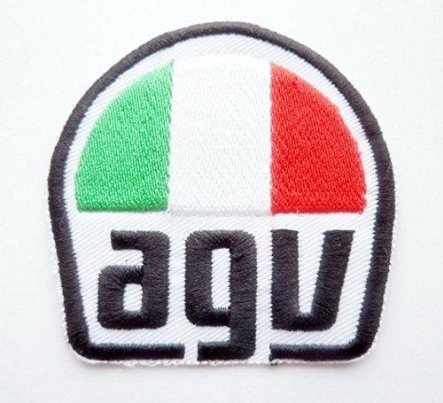 agv HELMETS Biker Racing Motorcycles Motogp Motorcross Logo Jacket Patch Sew Iron on Embroidered Symbol Badge Cloth Sign bY PRINYA SHOP