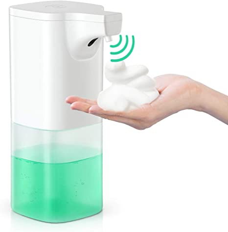 Portable Soap Pump Auto Dispenser Foam Touchless Storage For Kitchen Dish Soap