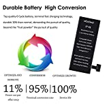 Ogodeal Battery Replacement for Model IP 4S
