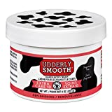 Udderly Smooth Extra Care Cream with 10% Urea for dry skin, Unscented, 8 Ounce (Pack of 2)