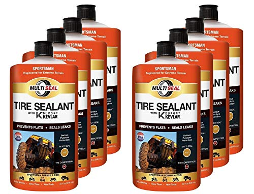 MULTI SEAL 20138 Tire Sealant with Kevlar (Sportsman Formula), Great for ATVs, UTVs / Side-by-Sides, Golf Carts, Dirt Bikes, Off-Road-Only Jeeps and more, 8-Pack (256 oz.) by MULTI SEAL (Image #4)