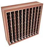 wavy wooden wine rack - Wine Racks America Redwood 100 Bottle Deluxe. 13 Stains to Choose From!