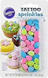 Wilton 710-4150 Polka Dot Easter Egg Tattoo Sprinkles, Assorted