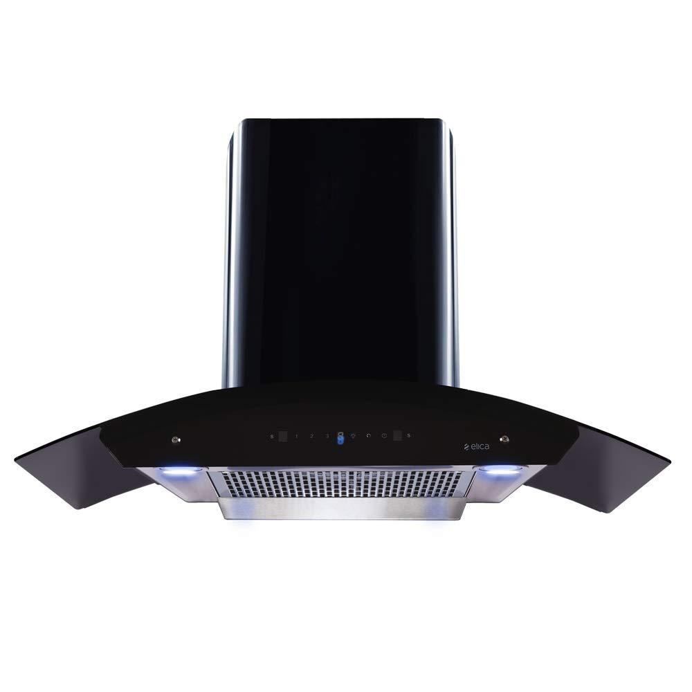 Elica 90 cm 1200 m3/hr Filterless Auto Clean Chimney with