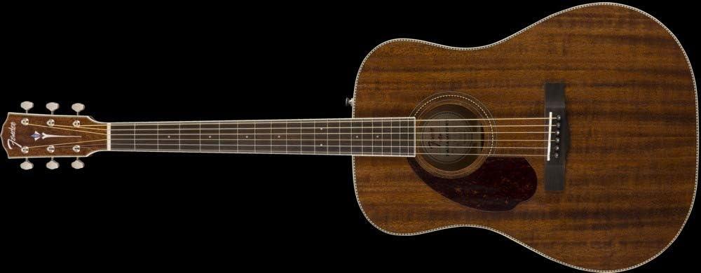 Fender PM-1 Standard Mahogany Dreadnought Left-Handed Acoustic Guitar