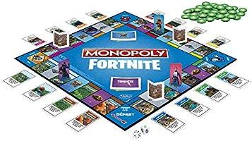 Monopoly – Fortnite juego de tablero, E6603