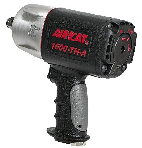 "AIRCAT 1600-TH-A 3/4"" Drive Composite Impact Wrench, Medium,"