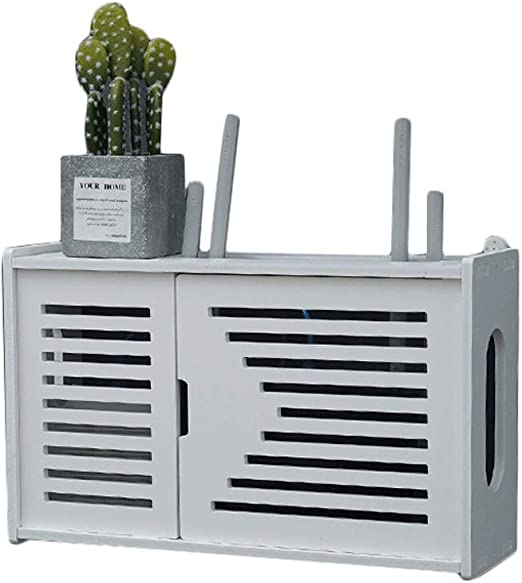 Wireless Router Storage Shelf