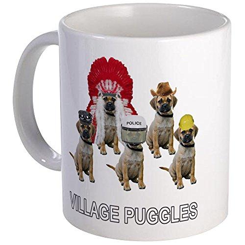 [CafePress - Village Puggles - Unique Coffee Mug, Coffee Cup] (Indian Policeman Costume)