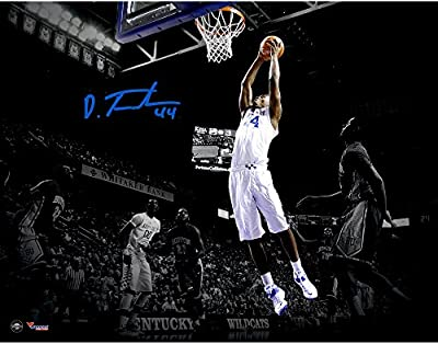 "Dakari Johnson Kentucky Wildcats Autographed 11"" x 14"" Spotlight Photograph - Fanatics Authentic Certified"