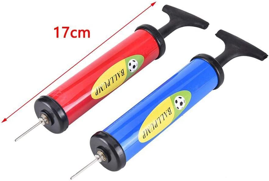 Extension Hose Nozzle Volleyballs and Footballs Hand Air Ball Pump Inflator Kit with Needle Basketballs for Soccer Balls nanshoudeyi Ball Pump