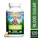 Cheap Host Defense – Maitake Mushroom Capsules, Naturally Promotes Normal Blood Sugar Metabolism, Cellular Health, and Immunity, Non-GMO, Vegan, Organic, 120 Count