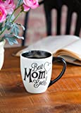 Cypress Home Beautiful Mom Black Ink Ceramic Cup