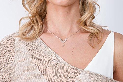 Lucy Quartermaine Mini V-Style Wave Collier de 41-46,5cm