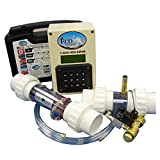 Professional Grade Products 9800659 EcoSmarte Fully Automated Pool System with CO2 for Non-Salt and Non-Chlorine Fresh Water Purification and Filtration for Swimming Pools Up to 50000 gal