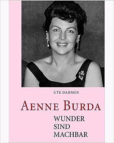Burda Taschenbuch Aenne Wunder