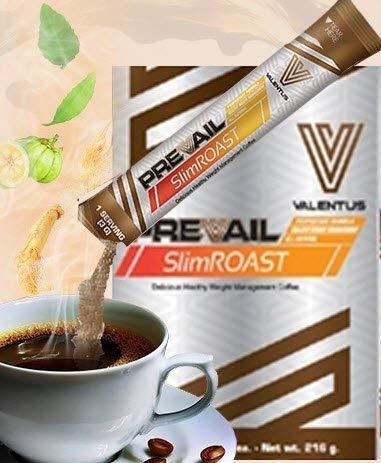 Método Valentus PLAN de 6 Días - CAFE Slim Roast Optimum de VALENTUS - Supresor del Apetito - Control y PERDIDA de PESO: Amazon.es: Salud y cuidado personal