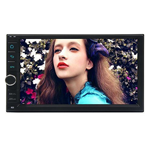 EinCar Anroid 6.0 Car Deck Auto Stereo Car NO DVD Player Radio Head Unit Double Din Auto GPS Entertainment 1080P Wifi Mirrorlink Steering Wheel Control
