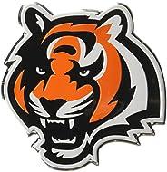 "NFL Cincinnati Bengals Die Cut Color Automobile Emblem, 4"""