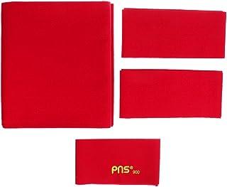 MagiDeal PNS900 Standard Panno per 9ft Tavoli da Biliardo Flauto da Biliardo di velocità (278 x 155 cm) - Rosso