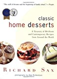 Classic Home Desserts, Richard Sax, 0618003916