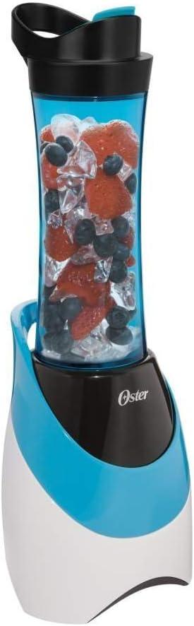 Oster My Blend Blender 20 Oz. Plastic Blue, White 250 W
