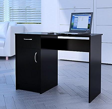 Home Source Tyler 1 Drawer 1 Door Compact Computer Workstation/Home/Office