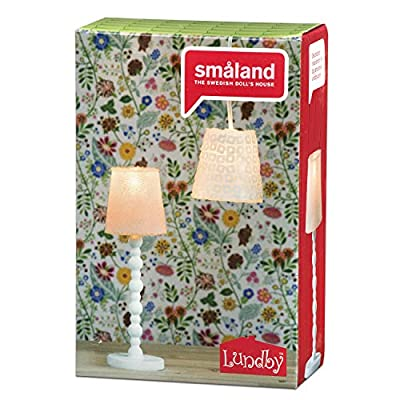 Lundby Smaland 2016 Lamp Set Floor & Ceiling: Toys & Games