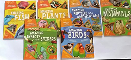 Amazing Life Cycles (WR Amazing Life Cycles 6 Set: BIRDS, REPTILES AND AMPHIBIANS, MAMMALS, INSECTS AND SPIDERS, PLANTS, FISH (AMAZING LIFE CYCLES))
