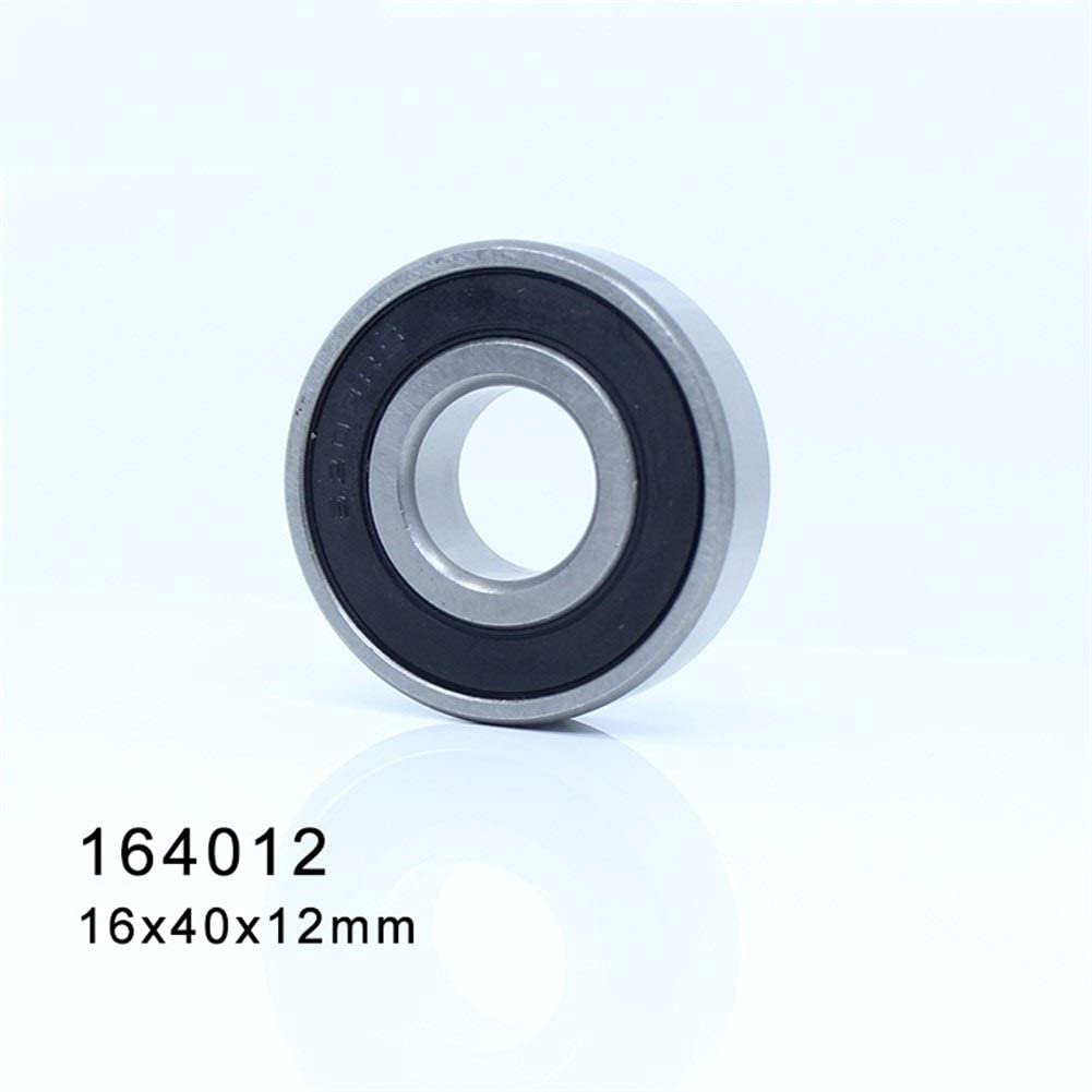 Deep Groove Ball Bearing 2Pcs NO-LOGO Durable 6203//16 2RS Non-Standard 164012 Ball Bearings 16x40x12mm ABEC-1