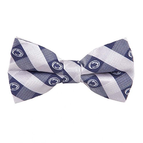 Penn State Nittany Lions Checked Logo Bow Tie - NCAA College Team Logo
