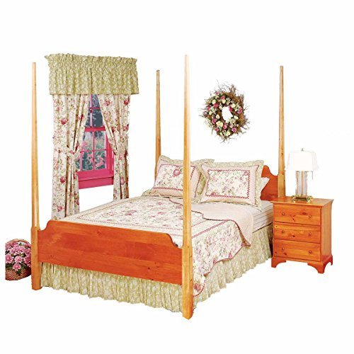 Renovator's Supply Bed Heirloom Pine Queen Pencil Post Maple Posts Bedroom Maple Poster Bed