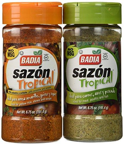 Badia Sazon Tropical Bundle - 6.75 Oz Each ()
