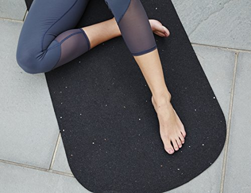 Kiss The Sky Best Yoga Mat for Fitness Eco Friendly Non Slip Performance Yoga Mat made from Recycled Rubber USA Made 72