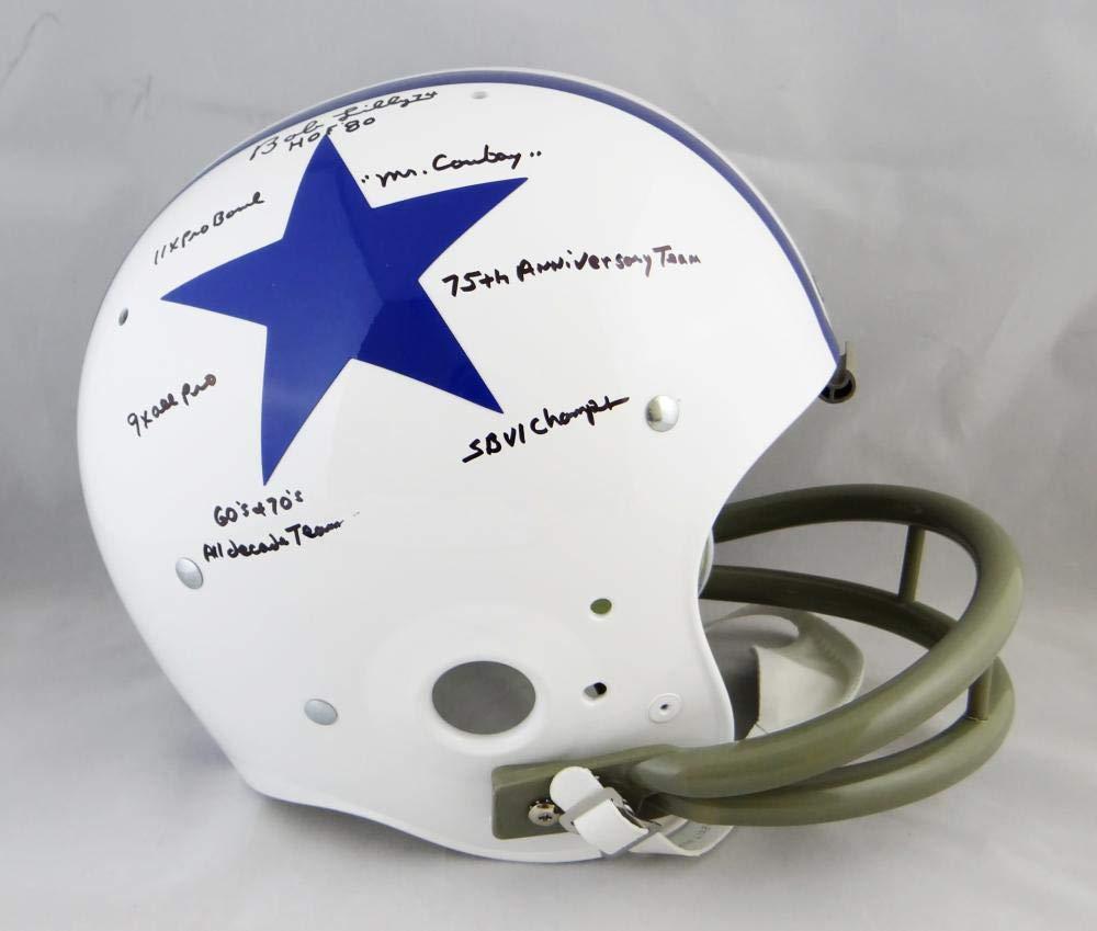 01e1228e Amazon.com: Bob Lilly Autographed Dallas Cowboys F/S 60-63 TK Helmet ...