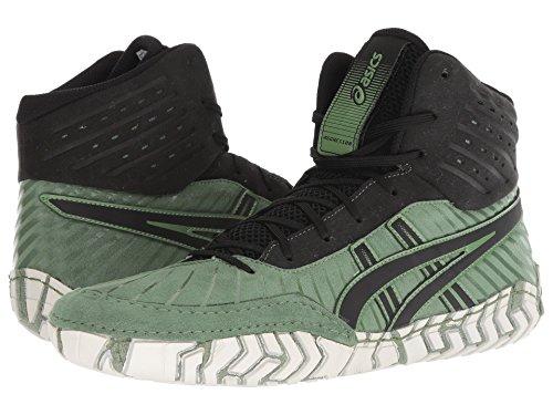 [asics(アシックス)] メンズランニングシューズ?スニーカー?靴 Aggressor 4 Cedar Green/Black 10.5 (28.25cm) D - Medium