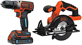 Black & Decker 20V MAX Drill Driver & Circular Saw Combo Kit