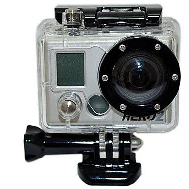 Waterproof PC Camera Housing Case for GoPro / SupTig Hero 2