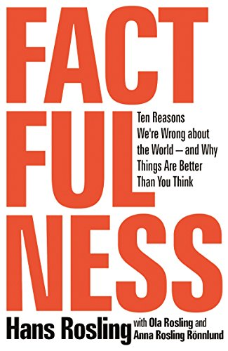 Factfulness: Ten Reasons We're Wrong About the World-and Why Things Are Better Than You Think cover