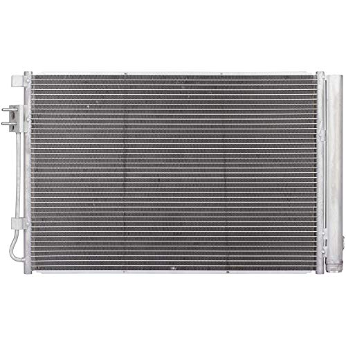 Automotive Cooling A/C AC Condenser For Hyundai Accent Kia Rio 3979 100% Tested