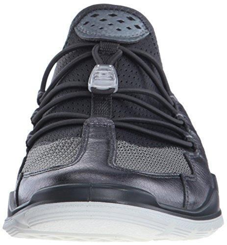 Skygge Titanium59528 Inde Kvinder Ecco mørk Los Sorte Til Metallisk Sneakers Eccoecco B7p1xwqZ