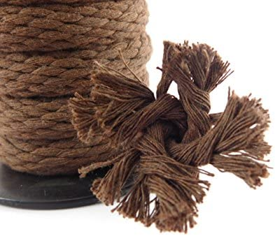 Variety of Colors and Lengths Clothesline Utility Rope and More Used as Sash Cord Ravenox Solid Braid Cotton Rope Made in The USA Macrame Projects
