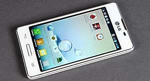 "LG Optimus L5 II Dual E455 5MP, 3G, 4GB, 4"", Jelly Bean, WIFI Factory Unlocked World Mobile Phone - White - International Version No Warranty"
